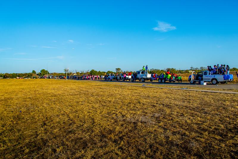 Homecoming Parade and Pep Rally 2015