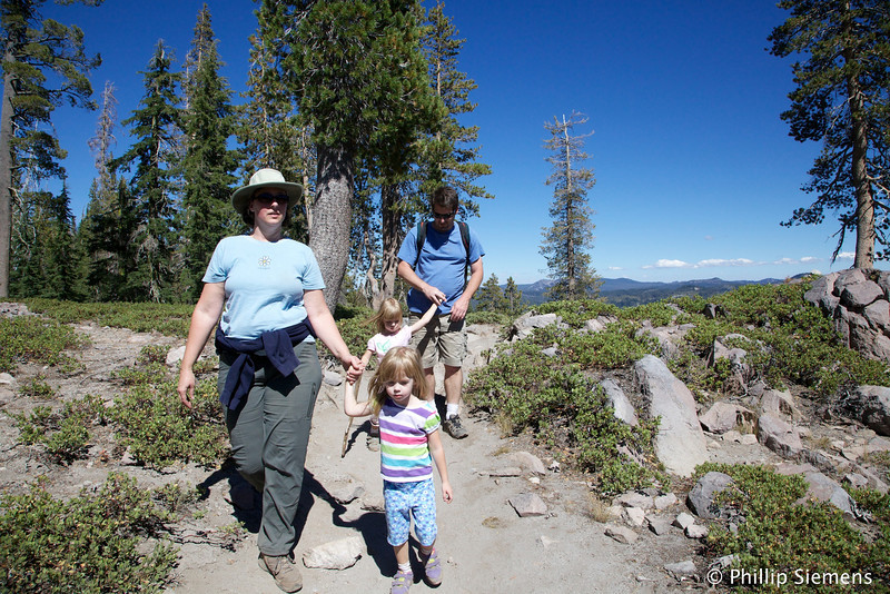 Little hikers