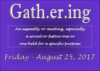 2017 The Gathering Friday & Saturday Night