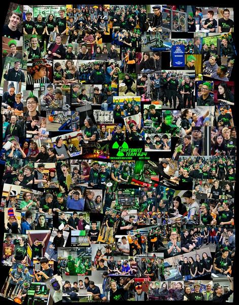 2018-2019 Team Collage