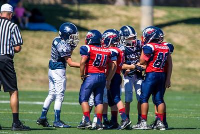 Vista Jr Eagles vs PG Eagles - 9-19-2015