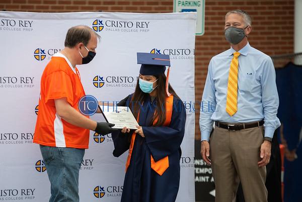 Cristo Rey Graduation Parade