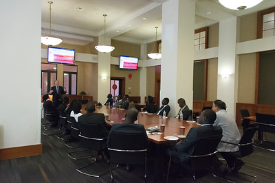 May 3: Briefing to Dean and Delegation from Strathmore University Law School