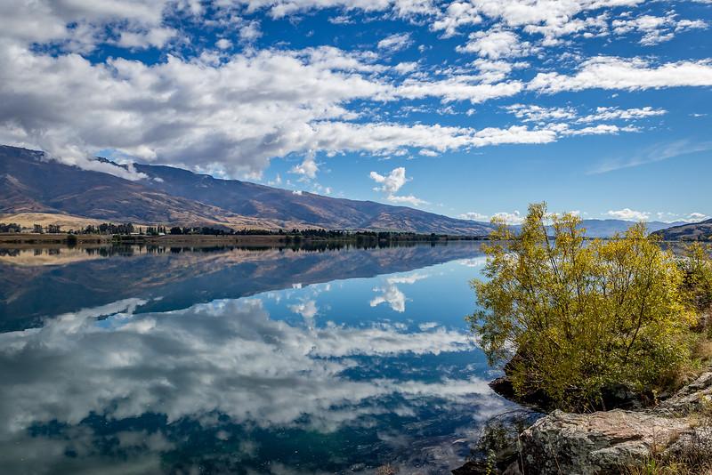 Spiegelung am «Lake Dunstan»
