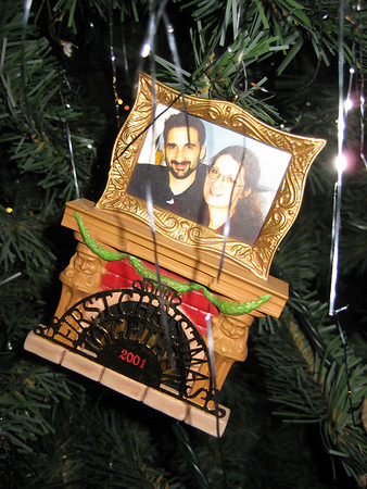 Holiday Ornaments from Tony