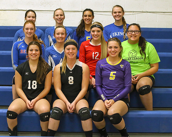 2016 Polar League Volleyball All-Stars