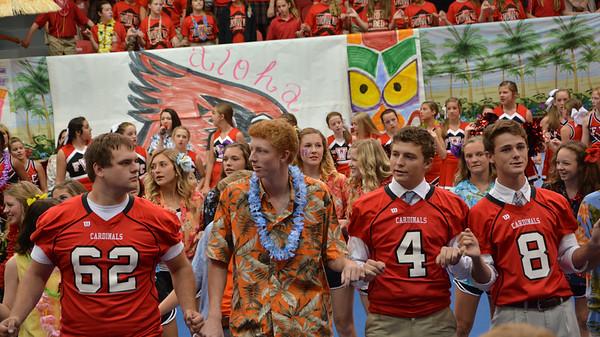 Aloha Pep Rally