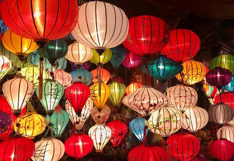 Lanterns, lanterns, lanterns! - Hoi An