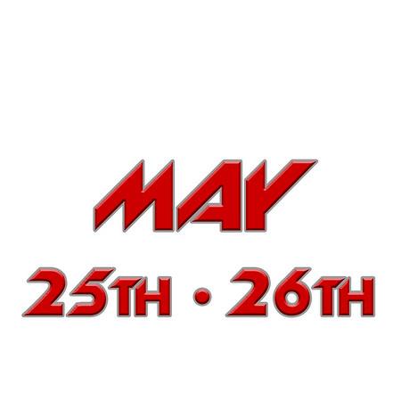 MAY 25•26