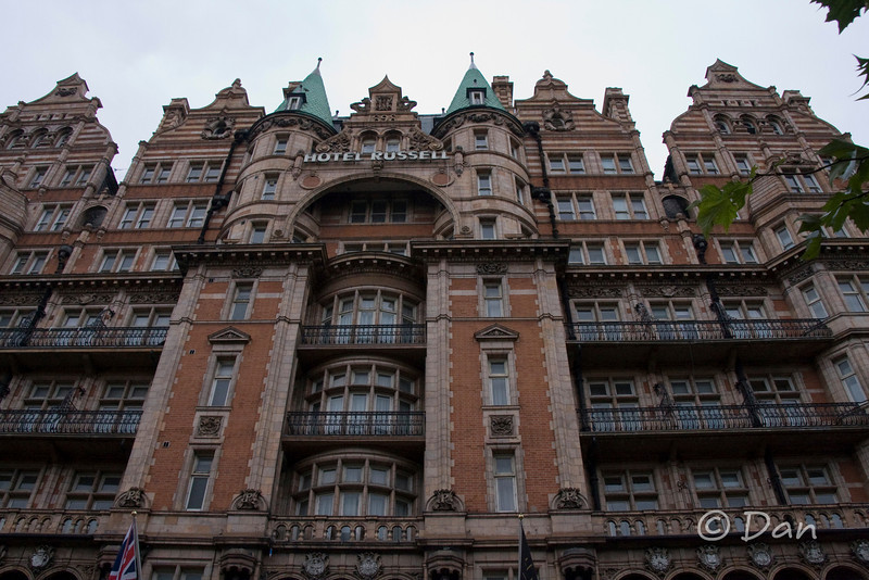 Hotel Russell - the building looked interesting