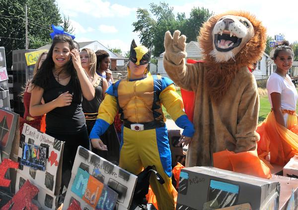 Moore High School Homecoming Parade