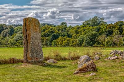Cawdor Castle and Clava Stone