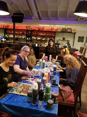 2018-11-19 Paint Night
