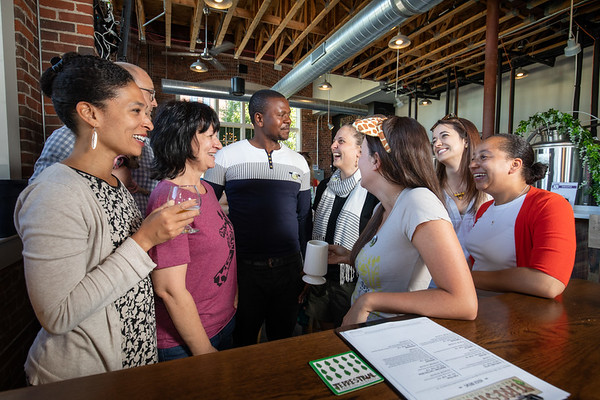 6.21 Networking at Terrestrial Brewing Company