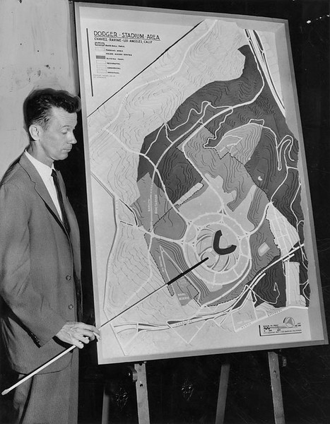 1959, Final Scale Drawings for Stadium