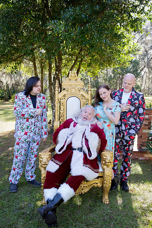 Santa Minis 2018: The Brock Family!