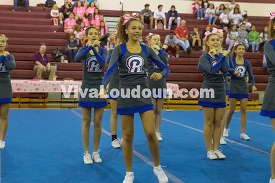 Cheer: Riverside JV 10.15.2016 (By Jeff Scudder)