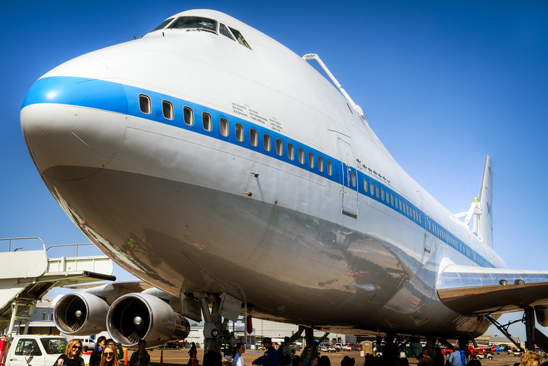 NASA's Boeing 747