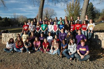 2007-2008 Legacy Scholars Group Photo