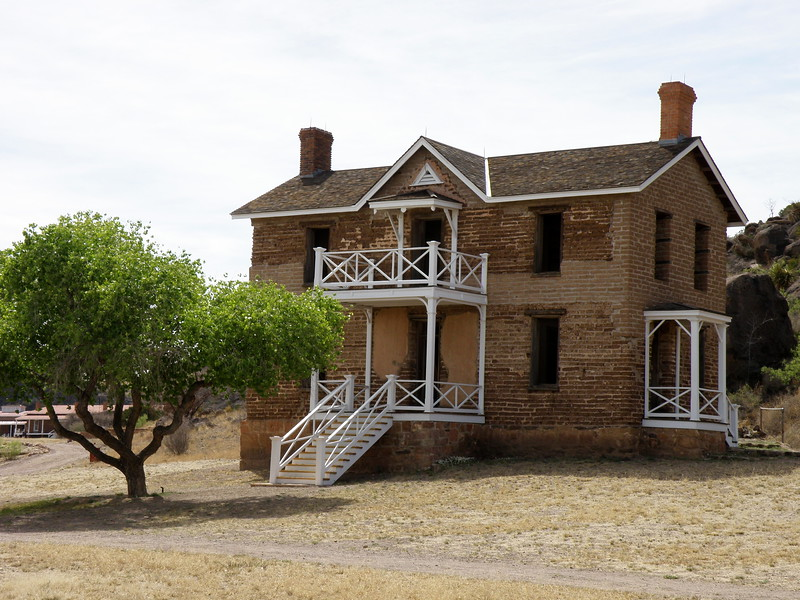 Two Story Officers Quarters'