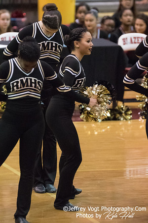 2/3/2018 Richard Montgomery HS at MCPS County Poms Championship Blair HS Division 2, Photos by Jeffrey Vogt Photography with Kyle Hall