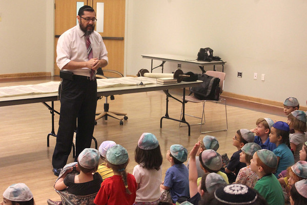 Learning About Torahs  From the Sofer