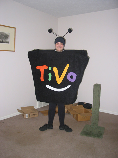 Amy's TiVo Halloween Costume