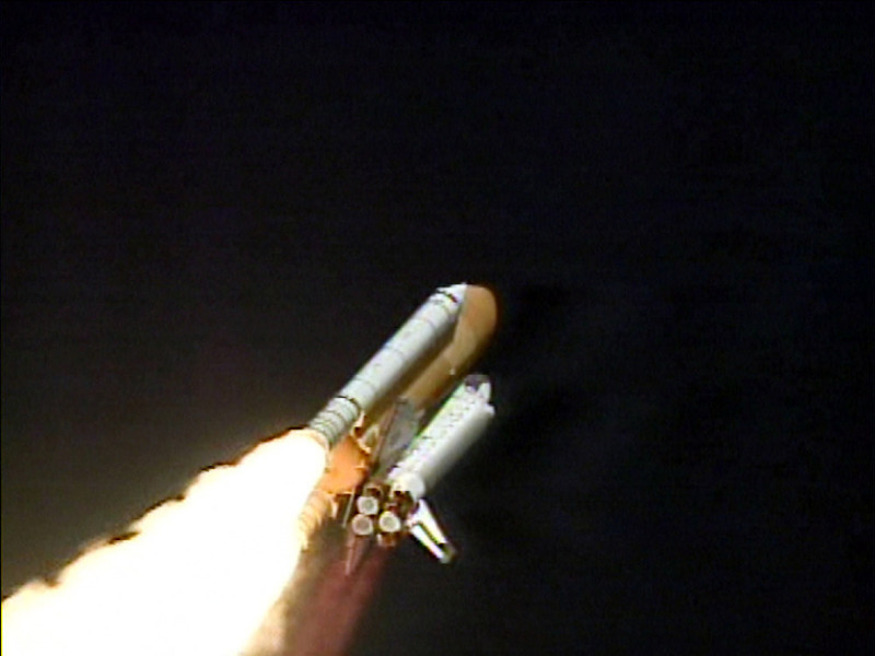. In this image from television shuttle Columbia lifts off from the Kennedy Space Center in Florida, Jan. 16, 2003. At least three government investigations will probe the Columbia disaster and NASAs shuttle program director vowed to find the answers so America can continue sending people into space. (AP Photo/NASA TV)