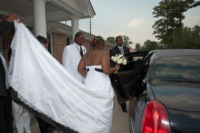 Kandis & Jawanza Wedding - Post-ceremony