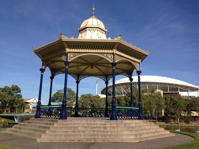 a large rotunda with small domed roof