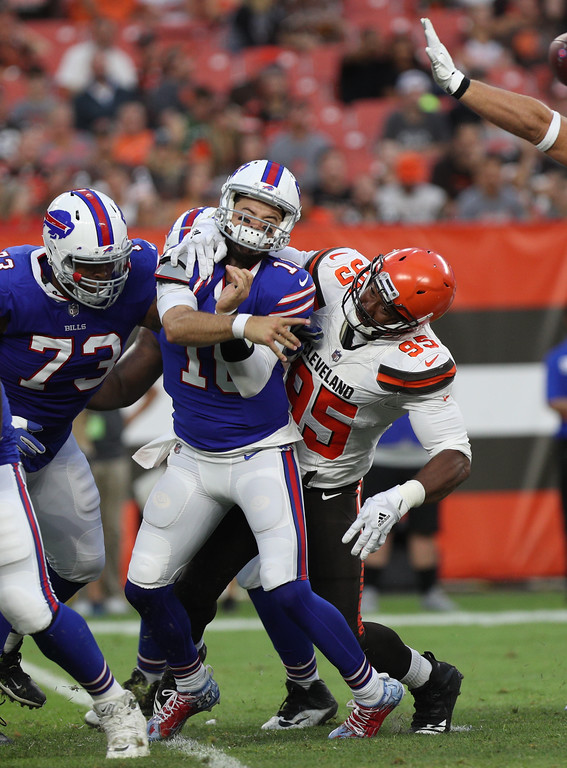 . Tim Phillis - The News-Herald Action from the Bills-Browns preseason game Aug. 17 at FirstEnergy Stadium.