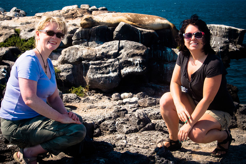 me lorna and a sea lion.jpg