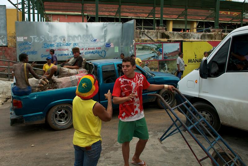 Mercado markets Manaus Brazil