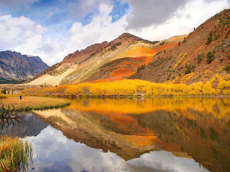 North Lake Reflection.