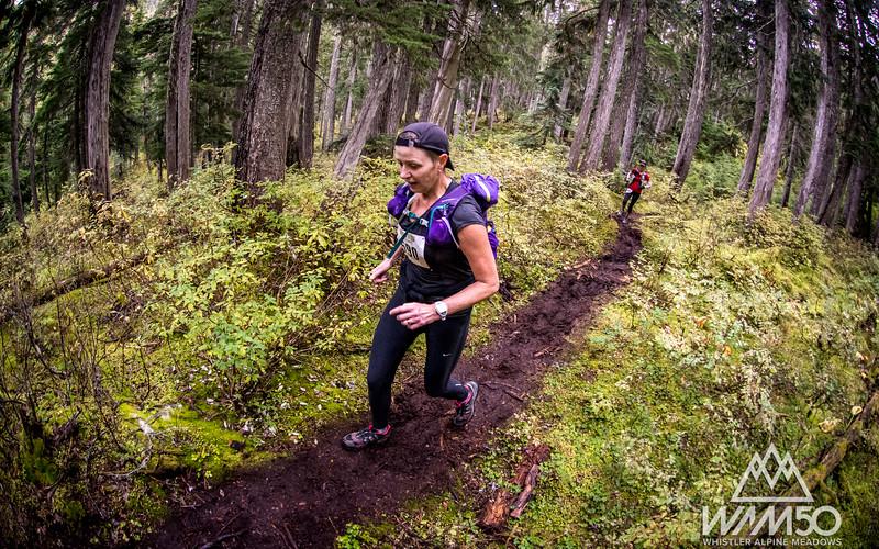 Whistler Alpine Meadows 50. Part of the Coast Mountain Trail Series. Photo: Scott Robarts