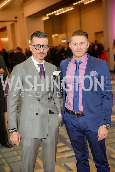 Giovanni Ippolito, Ricardo Rinaldi,  The 36th Annual RAMMY Awards, Washington Convention Center, June 10th, 2018.  Photo by Ben Droz.