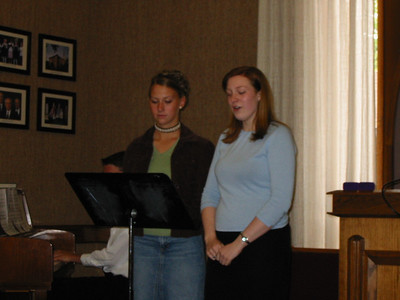 2004, Allie's Young Womanhood Award