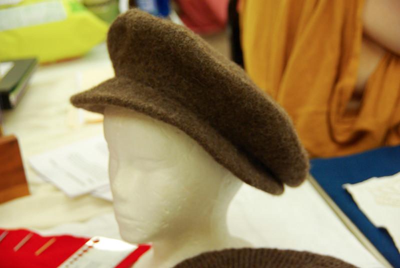 16th C. Knitted Wool Cap - Maistresse Alysia Gabrielle de Fougeres