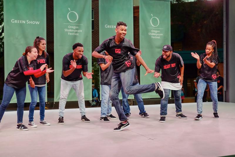 Versa-Style Dance Company @ Green Show 9-10-17