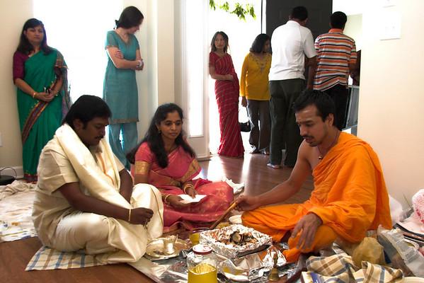 Indian Pooja (Satyanaraya Swami Vratham)