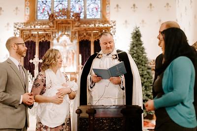 Josie's Baptism | 12-23-2018