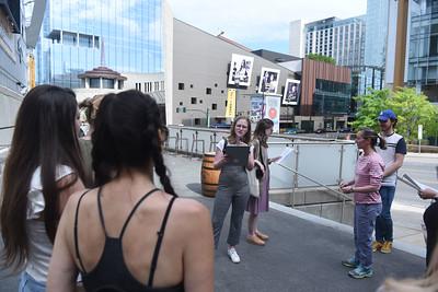 Downtown Public Arts and Murals Nashville Sites tour