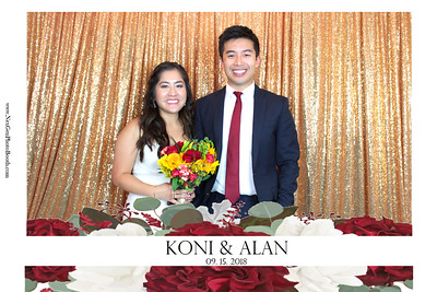 Koni & Alan's Wedding 9/15/18