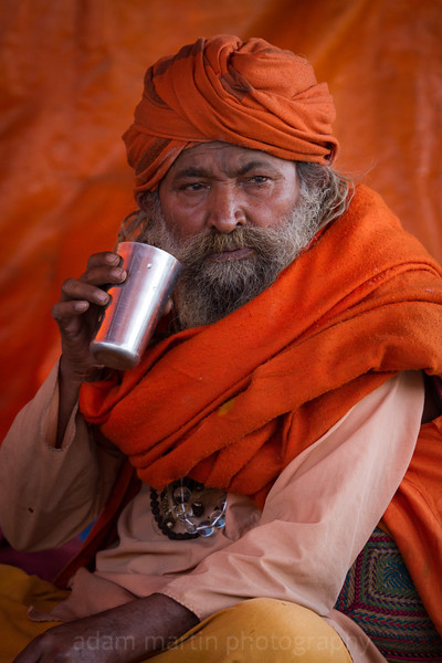 Orange on Orange, Allahabad, Kumbh Mela