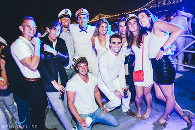 White Party @ Hornblower 9/02/2018
