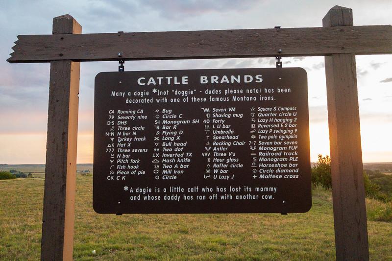 Montana Cattle Brands