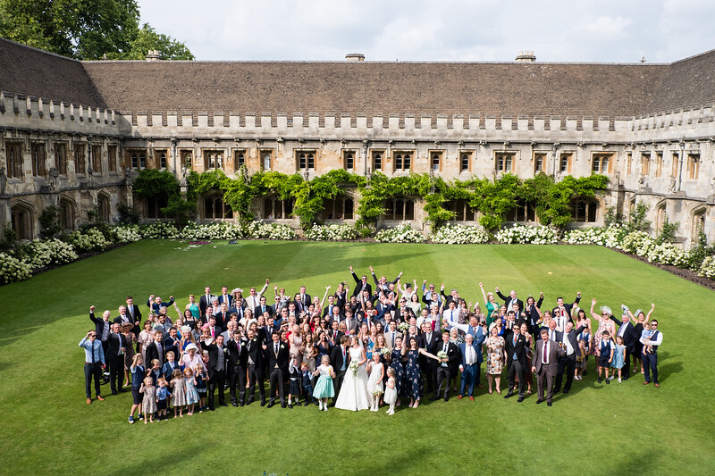 Magdalen College wedding