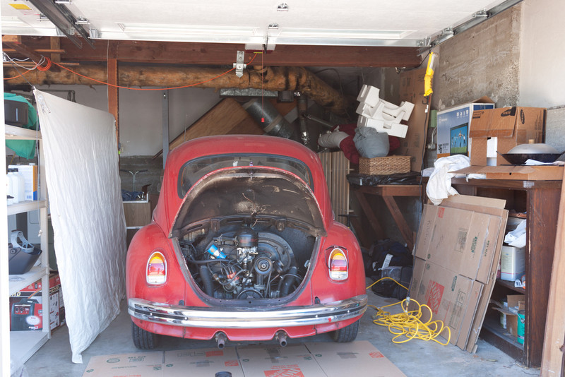 Beetle garage