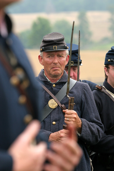 Union Reenactors - Antietam National Battlefield, Maryland