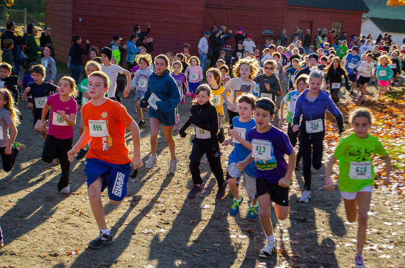 Kids Run The Farm 7-12 year olds start in 2012. Photo by Rob Cummings.